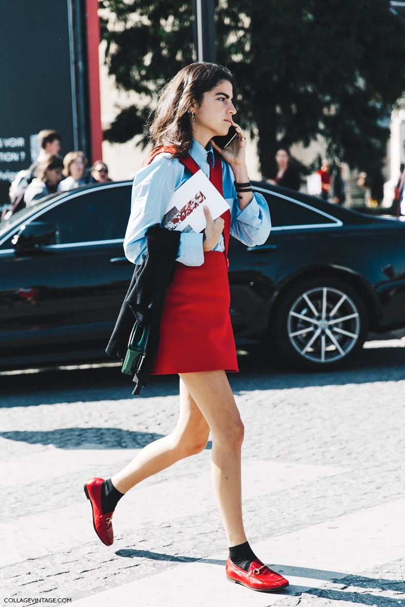 PFW-Paris_Fashion_Week-Spring_Summer_2016-Street_Style-Say_Cheese-Leandra_Medine-Man_Repeller-Red_Jumpsuit-6