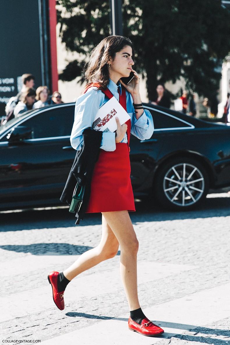 PFW-Paris_Fashion_Week-Spring_Summer_2016-Street_Style-Say_Cheese-Leandra_Medine-Man_Repeller-Red_Jumpsuit-6