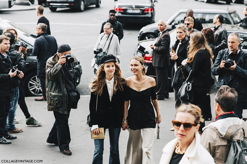 PFW-Paris_Fashion_Week-Spring_Summer_2016-Street_Style-Say_Cheese-Pernille_Teisbaek-Alexandra_Carl-Stella_McCartney-