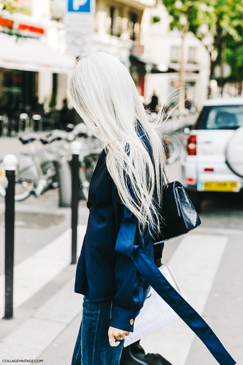 PFW-Paris_Fashion_Week-Spring_Summer_2016-Street_Style-Say_Cheese-Sarah_Harris-Celine-Jeans-1
