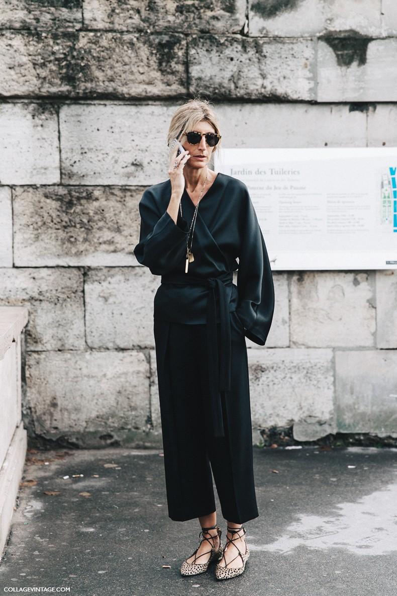 PFW-Paris_Fashion_Week-Spring_Summer_2016-Street_Style-Say_Cheese-Sarah_Ruston-Black-Leopard_Flats-Aquazzura-