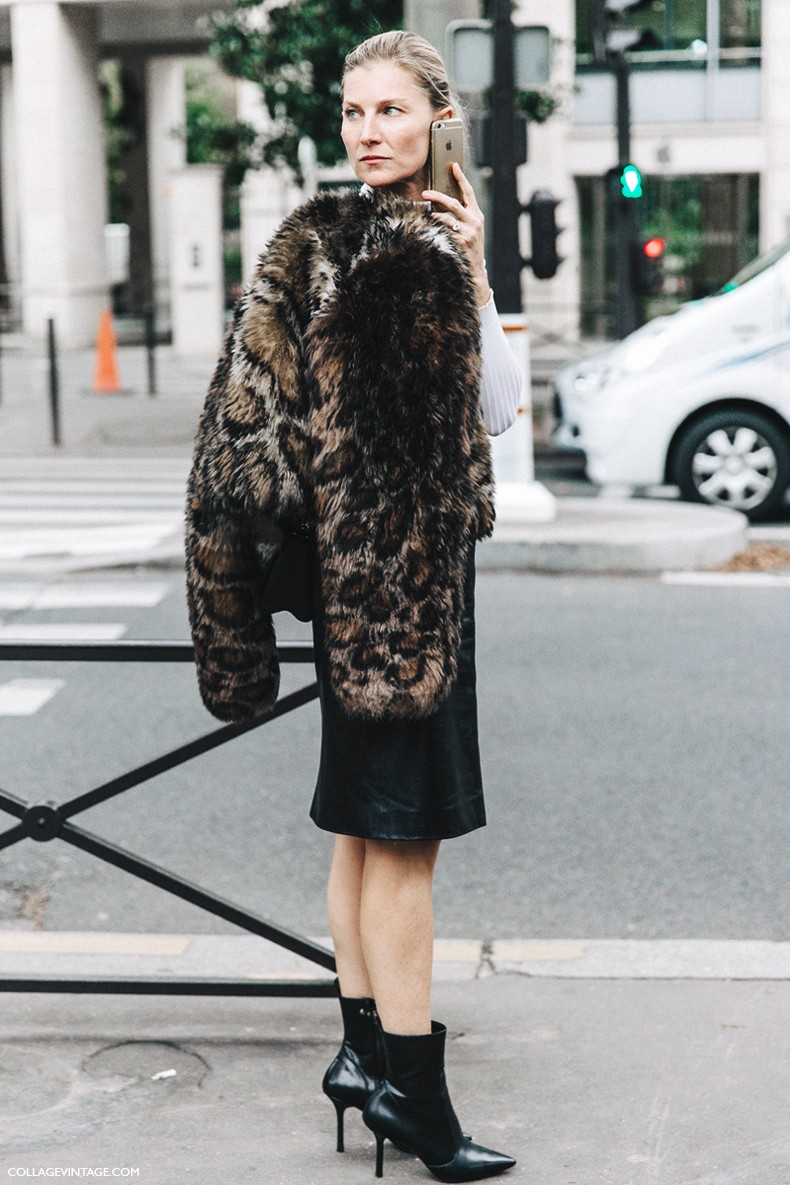 PFW-Paris_Fashion_Week-Spring_Summer_2016-Street_Style-Say_Cheese-Valentino_Spring_Summer_2016-Pencil_Skirt-Leopard_Coat-Elisabeth_Von-