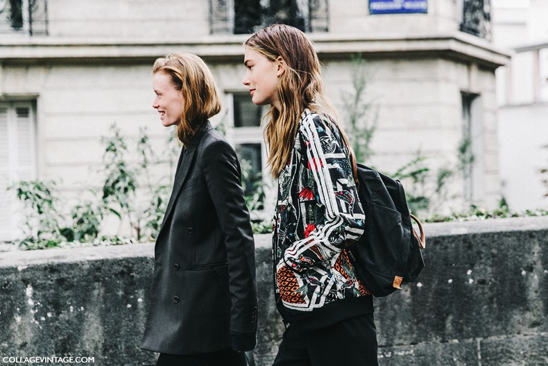 PFW-Paris_Fashion_Week-Spring_Summer_2016-Street_Style-Say_Cheese-john_Galliano-