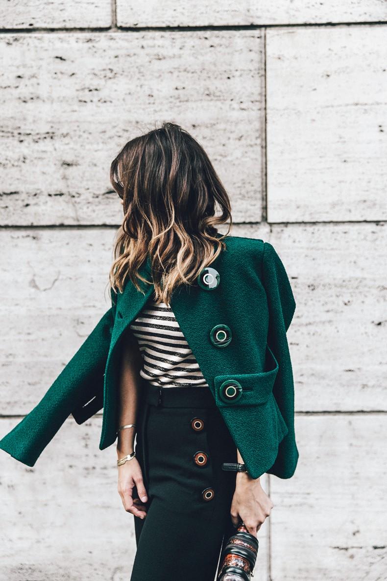Salvatore_Ferragamo-Striped_Top-GReen_Jacket-MFW-Milan_Fashion_Week-Outfit-Street_Style-Collage_Vintage-1