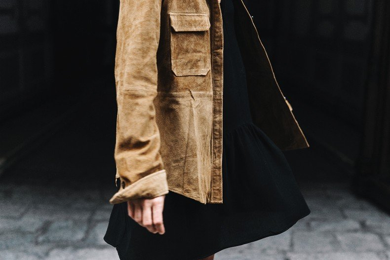 Camel_Suede_Shirt-Black_Dress-Studded_Booties-Collage_Vintage_For_Pepe_Jeans-Cut_Out_Boots-Proenza_Schouler-Outfit-30