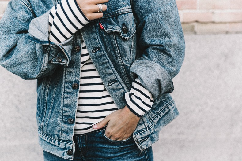 Double_Denim-Levis_Vintage-Skinny_Jeans-Striped_Top-See_By_Chloe_Bag-Chanel_Shoes-Outfit-Collage_Vintage-Street_Style-36