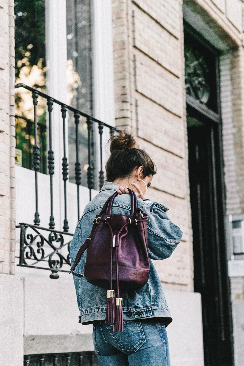 Double_Denim-Levis_Vintage-Skinny_Jeans-Striped_Top-See_By_Chloe_Bag-Chanel_Shoes-Outfit-Collage_Vintage-Street_Style-4
