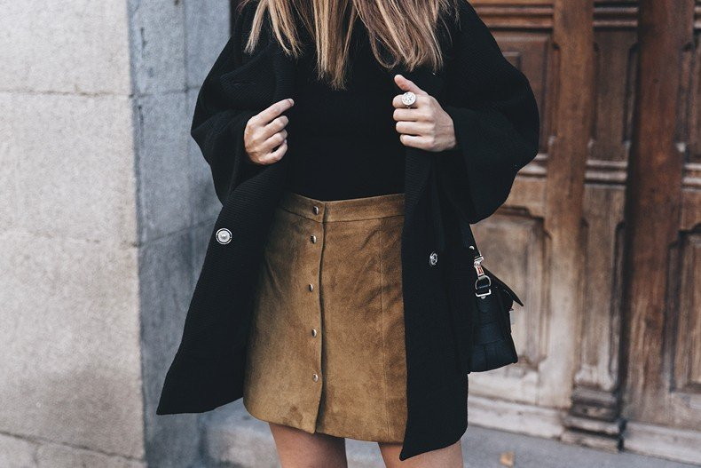 High_Boots-Suede_Skirt-Iro_Paris-Black_Jacket-Off_The_Shoulders_Sweater-Outfit-Street_Style-49