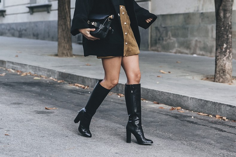 High_Boots-Suede_Skirt-Iro_Paris-Black_Jacket-Off_The_Shoulders_Sweater-Outfit-Street_Style-64