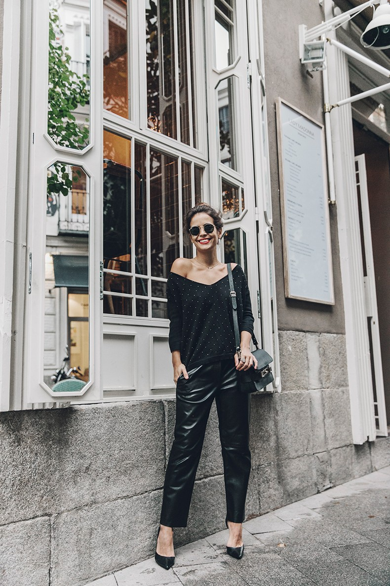 Leather_Trousers-Black_Coat-Proenza_Schouler-PS11-Outfit-Topknot-Outfit-Fay_Coat-Outfit-Street_Style-46