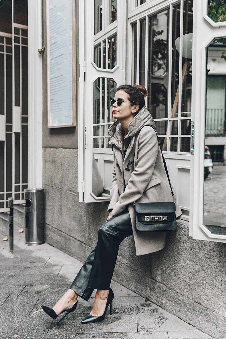Leather_Trousers-Black_Coat-Proenza_Schouler-PS11-Outfit-Topknot-Outfit-Fay_Coat-Outfit-Street_Style-6