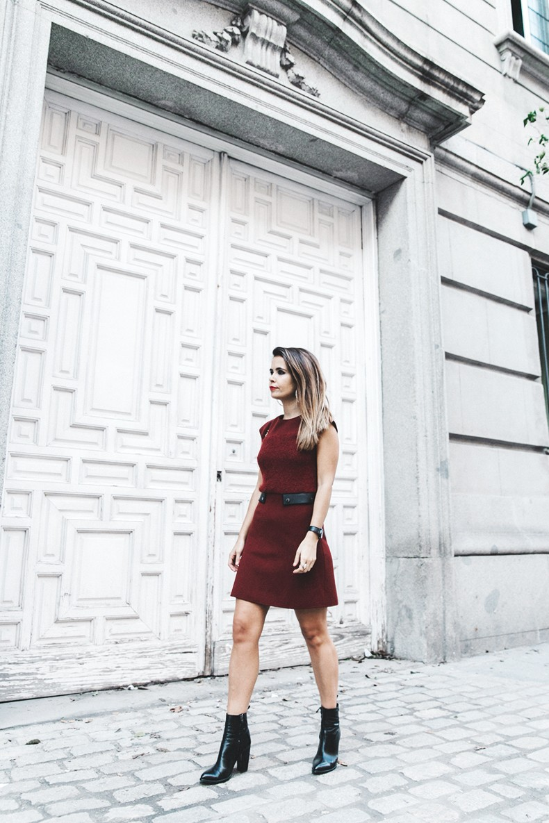 Longchamp-Red_Dress-Booties-Collage_Vintage-Outfit-Street_Style-5