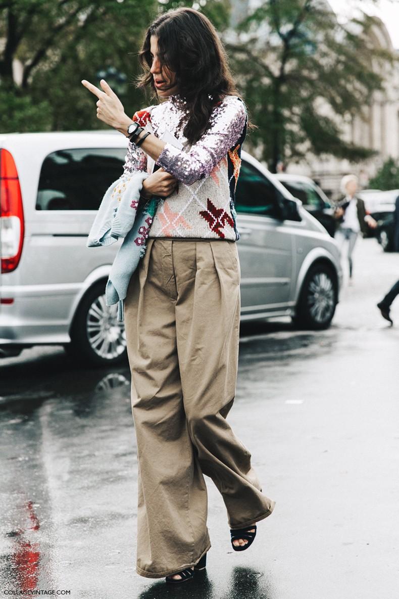 PFW-Paris_Fashion_Week-Spring_Summer_2016-Street_Style-Say_Cheese-Leandra_Medine-Dior-Sequins-Vest-2