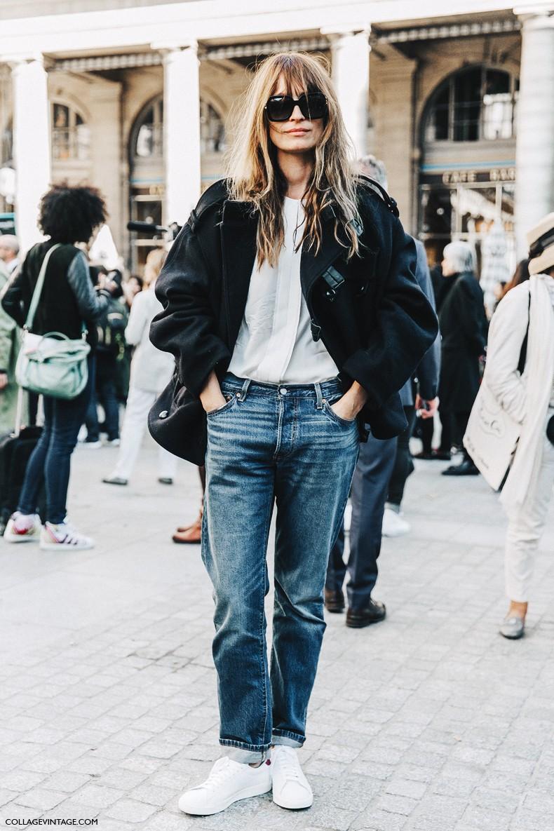 PFW-Paris_Fashion_Week_Spring_Summer_2016-Isabel_Marant-Street_Style-Caroline_De_Maigret-Bomber-Jeans-