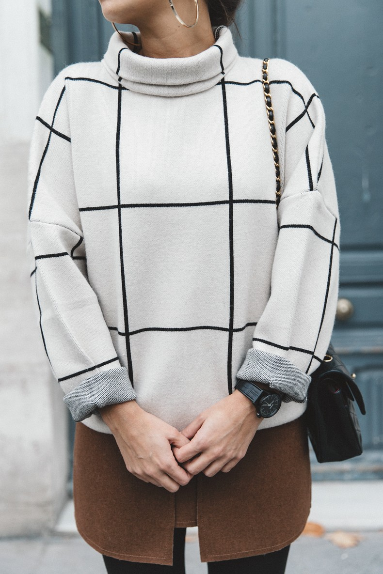 Checked_Sweater-Camel_Skirt-Chained_Booties-Chicwish-Collage_Vintage-Street_Style-Outfit-Mini_Skirt-Turtle_Neck-Hoop_Earrings-37