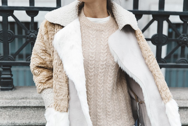 Patchwork_Coat-Faux_Fur_Coat-Asos-Mother_Jeans-Denim-Cable_Knit_Sweater-Snake_Effect_Booties-Topknot-Collage_Vintage-Street_Style-Outfit-42