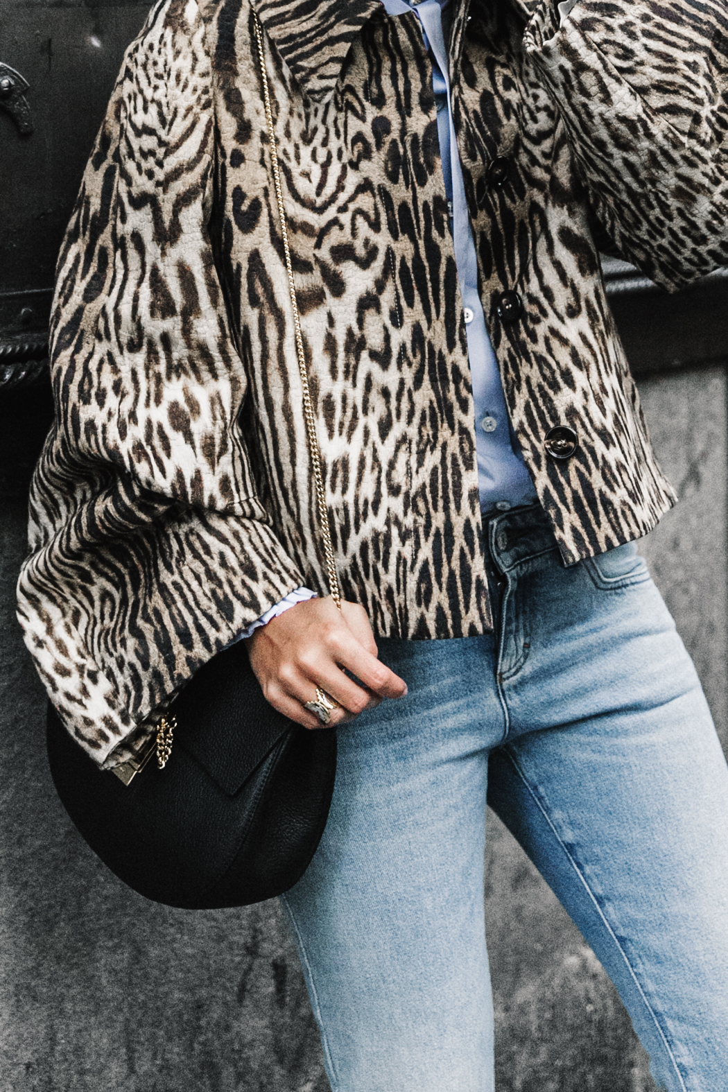 Firenze4Ever-Luisa_VIa_Roma-Chloe_Leopard_Jacket-Light_Blue_Blouse-Gucci_Jeans-_Look-Drew_Bag-Outfit-Florence-Street_Style-7