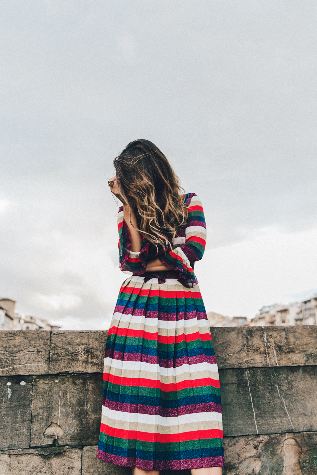 Firenze4Ever-Luisa_VIa_Roma-Gucci_Striped_Dress-Gucci_Gold_Sandals-Outfit-Florence-Street_Style-17
