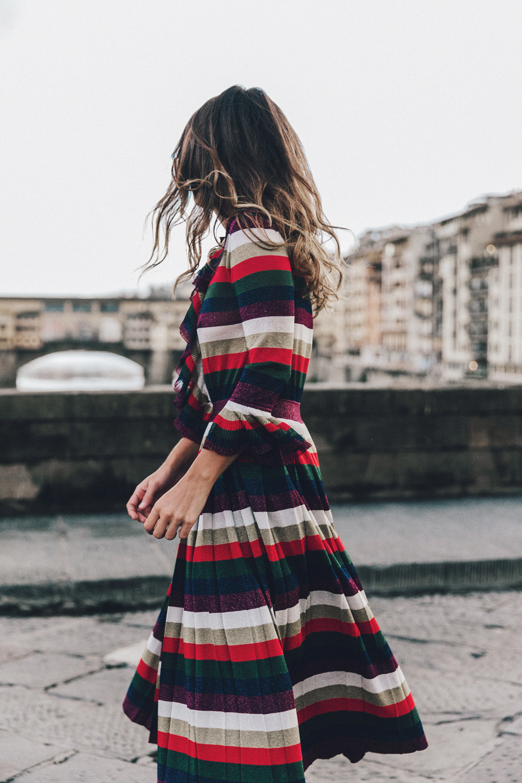 Firenze4Ever-Luisa_VIa_Roma-Gucci_Striped_Dress-Gucci_Gold_Sandals-Outfit-Florence-Street_Style-35