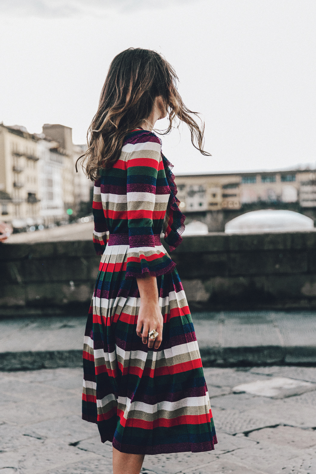 Firenze4Ever-Luisa_VIa_Roma-Gucci_Striped_Dress-Gucci_Gold_Sandals-Outfit-Florence-Street_Style-36
