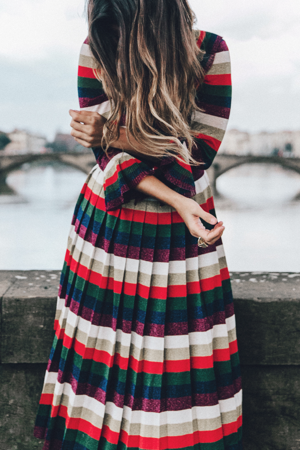 Firenze4Ever-Luisa_VIa_Roma-Gucci_Striped_Dress-Gucci_Gold_Sandals-Outfit-Florence-Street_Style-46