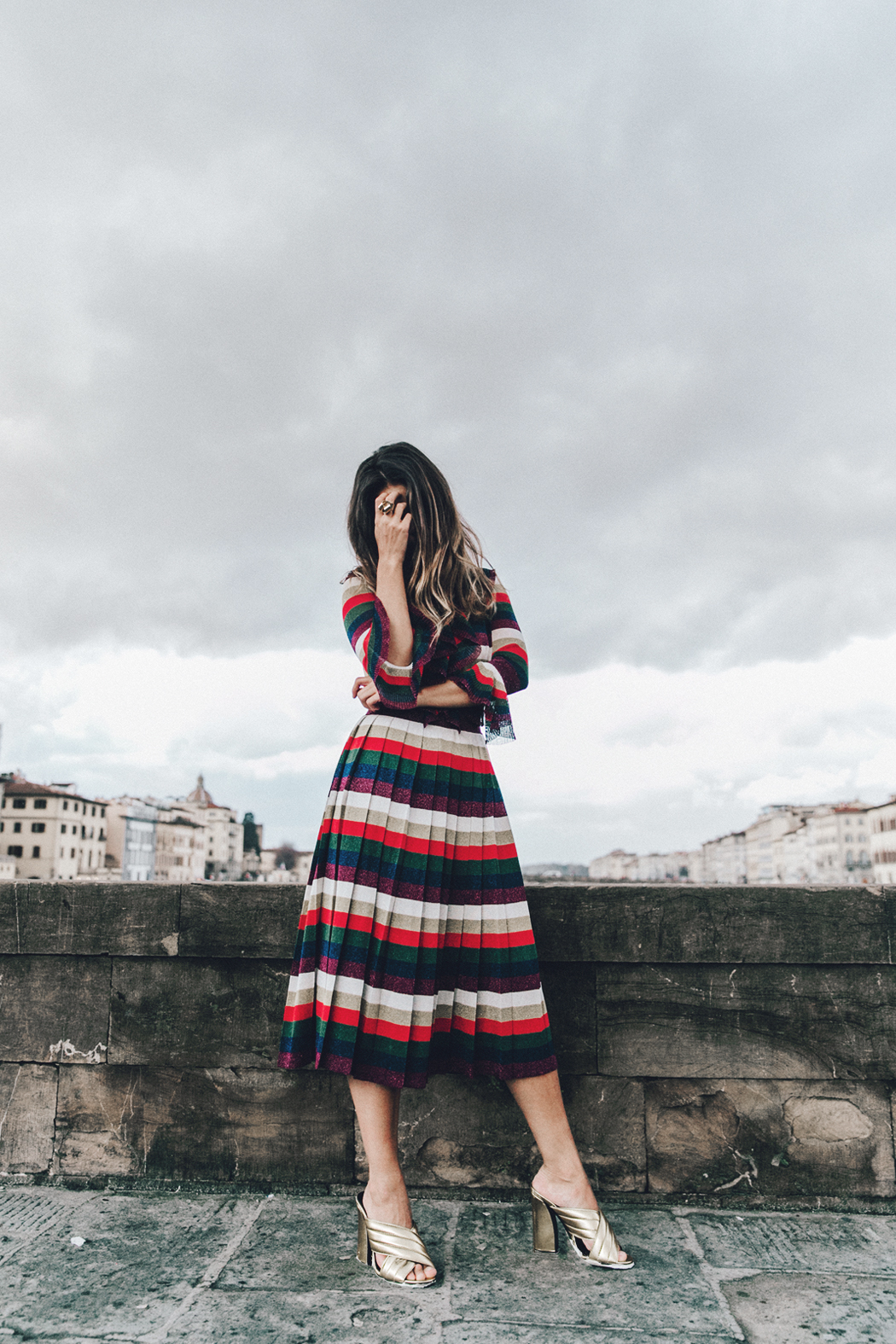 Firenze4Ever-Luisa_VIa_Roma-Gucci_Striped_Dress-Gucci_Gold_Sandals-Outfit-Florence-Street_Style-49