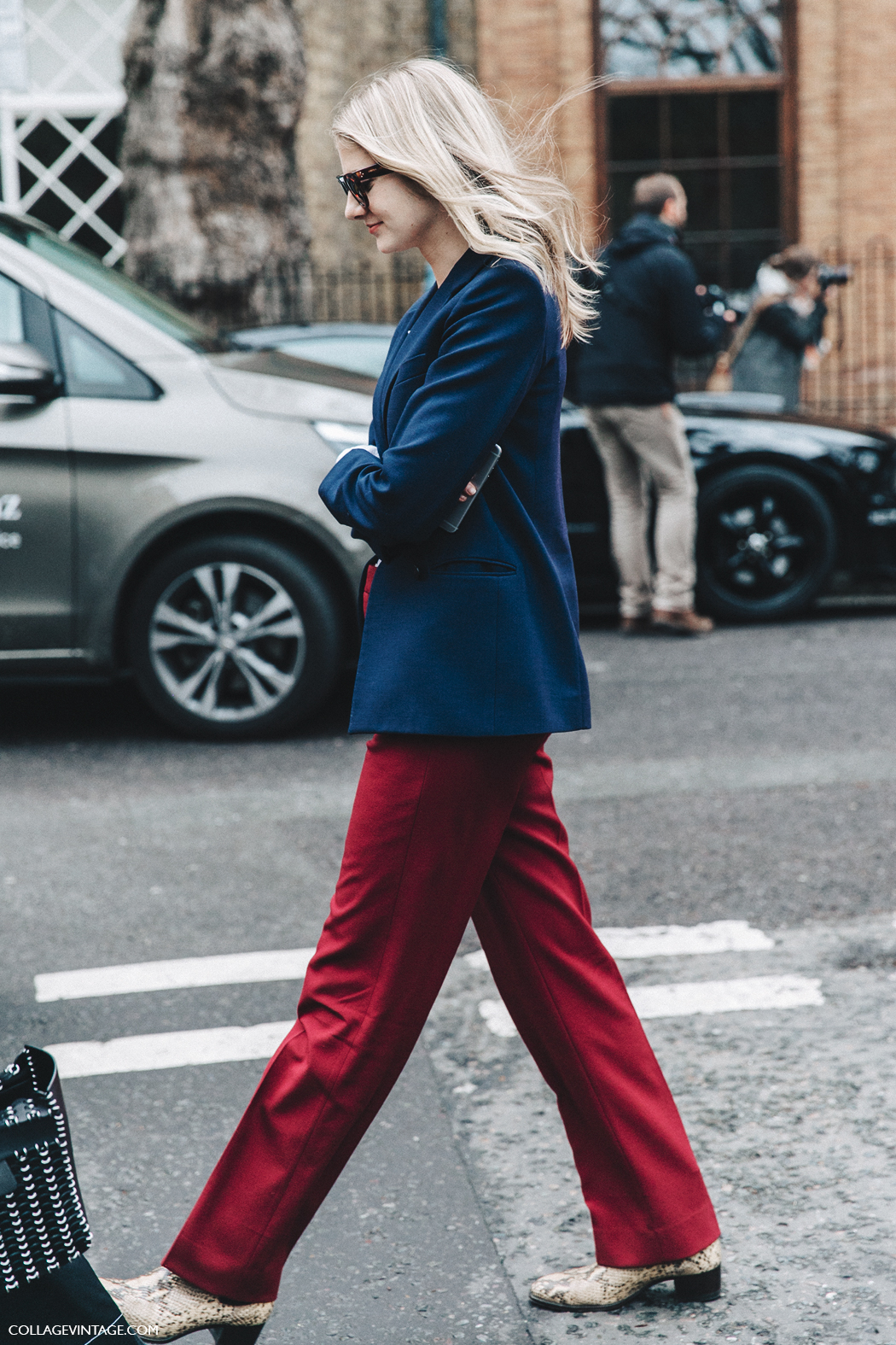 LFW-London_Fashion_Week_Fall_16-Street_Style-Collage_Vintage-Blazer-