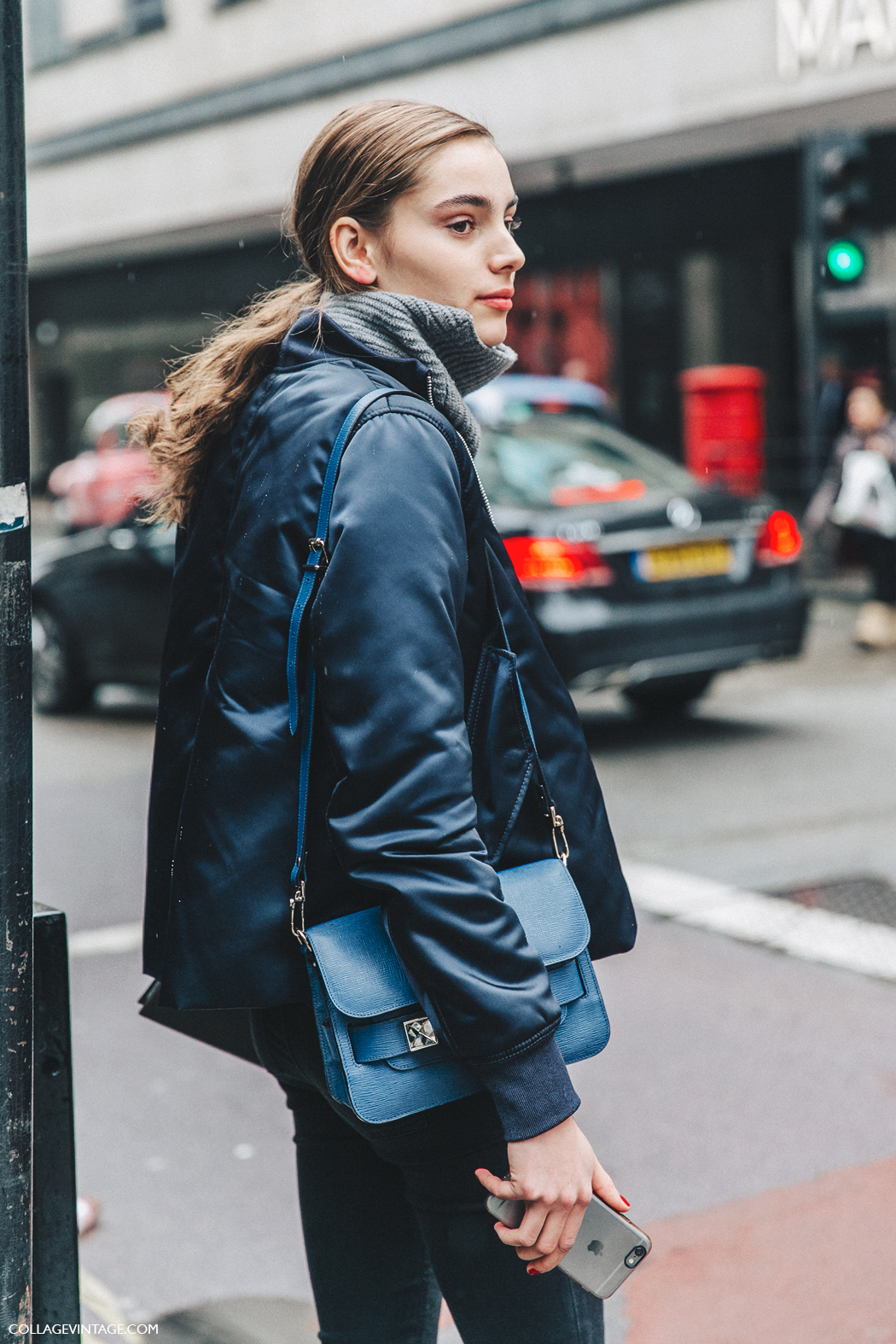 LFW-London_Fashion_Week_Fall_16-Street_Style-Collage_Vintage-Bomber-Blue-1