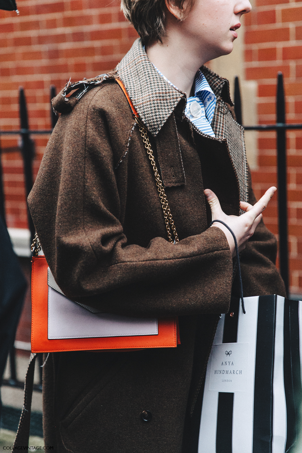 LFW-London_Fashion_Week_Fall_16-Street_Style-Collage_Vintage-Brown_Coat-Celine_Bag-