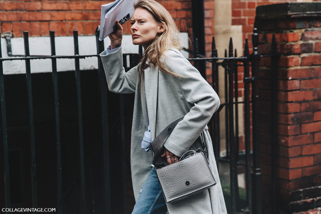 LFW-London_Fashion_Week_Fall_16-Street_Style-Collage_Vintage-Grey_coat-Maxi_Coat-White_Sneakers-6