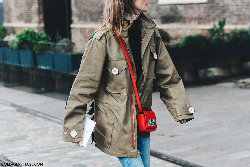 LFW-London_Fashion_Week_Fall_16-Street_Style-Collage_Vintage-Trench_Red_Bag-