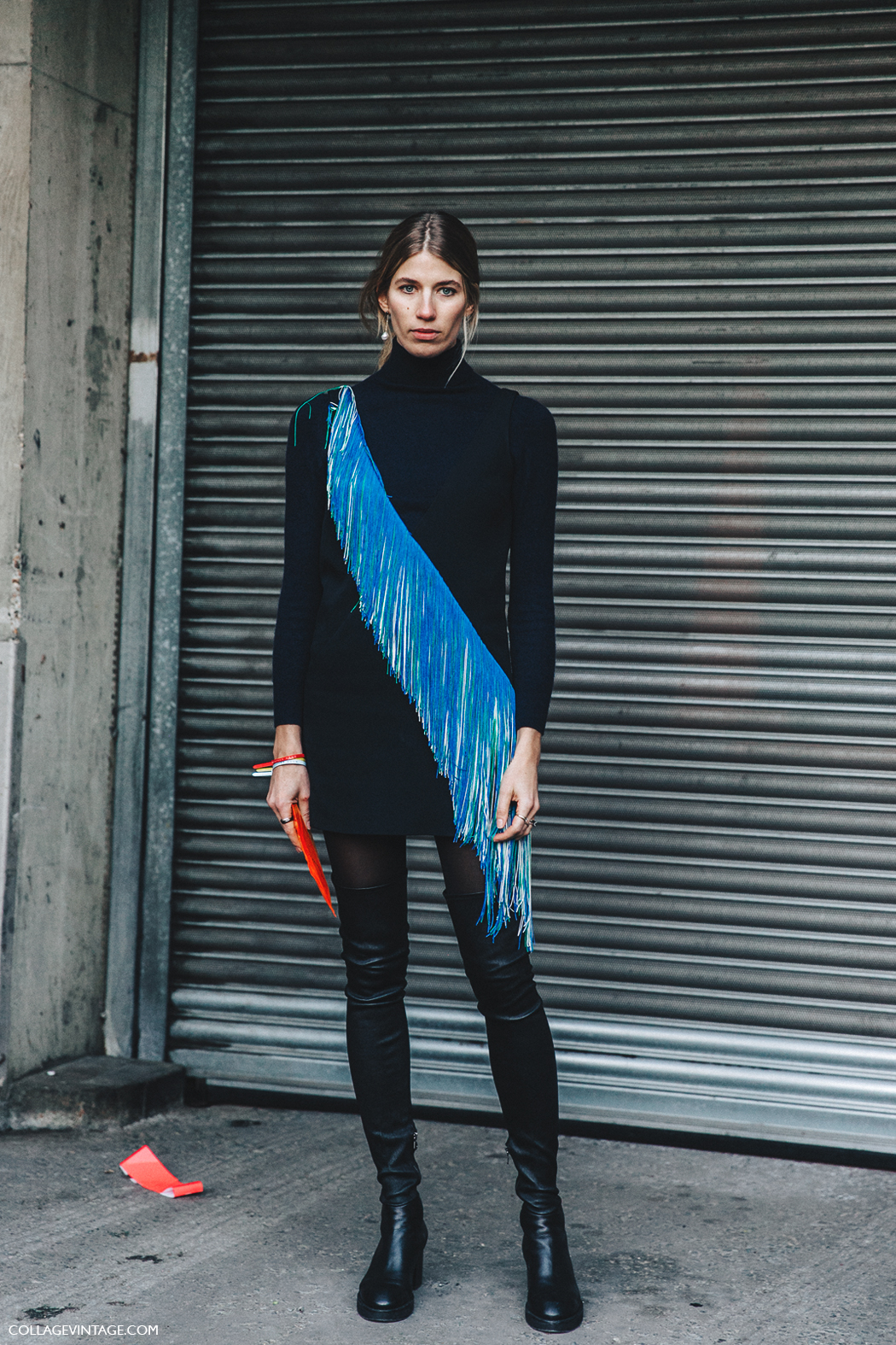 LFW-London_Fashion_Week_Fall_16-Street_Style-Collage_Vintage-Veronika_Heilbrunner-Christopher_Kane-Over_The_Knee_Boots-2