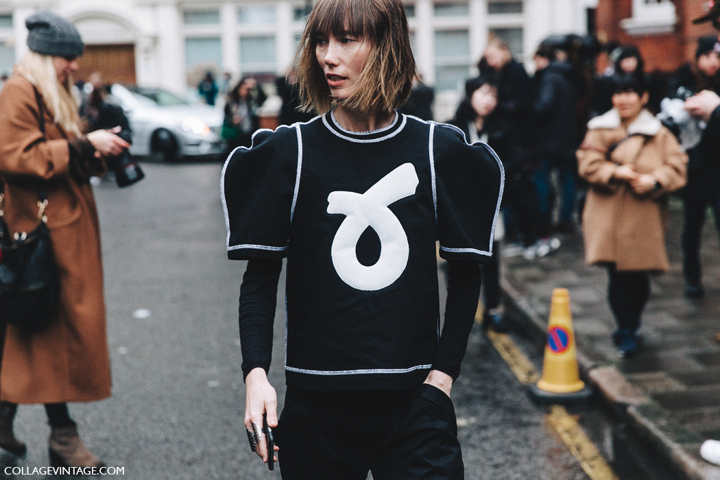 LFW-London_Fashion_Week_Fall_16-Street_Style-Collage_Vintage-anya_Ziourova-JW_Anderson-Black_And_White-3