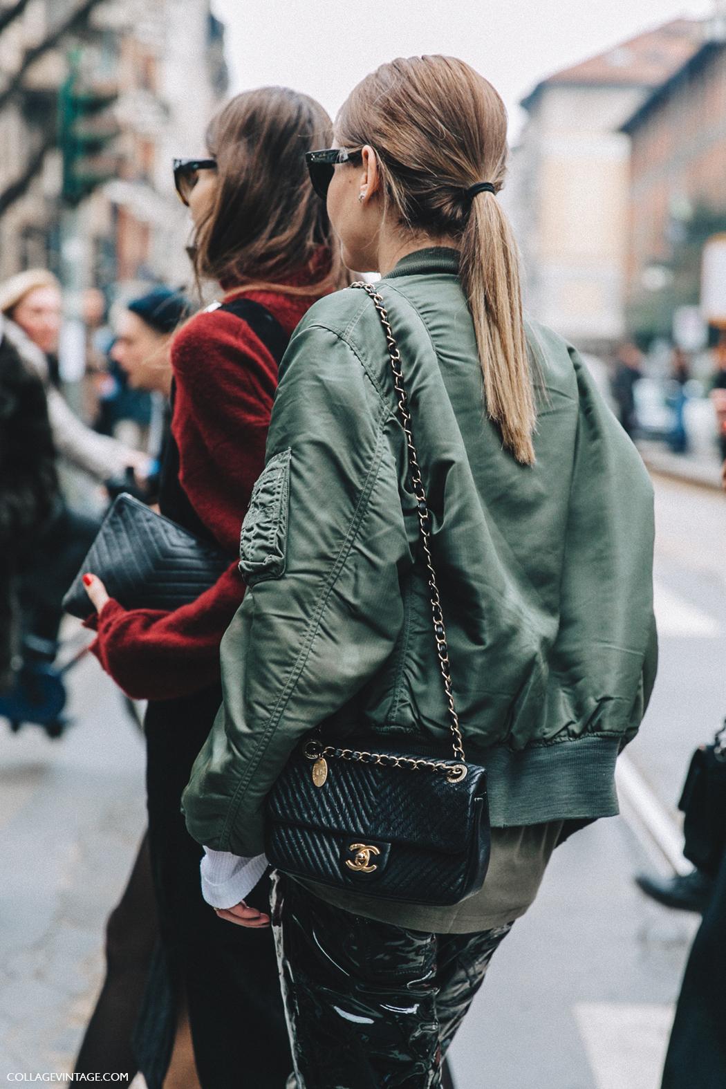 Chanel Bag Collage Vintage