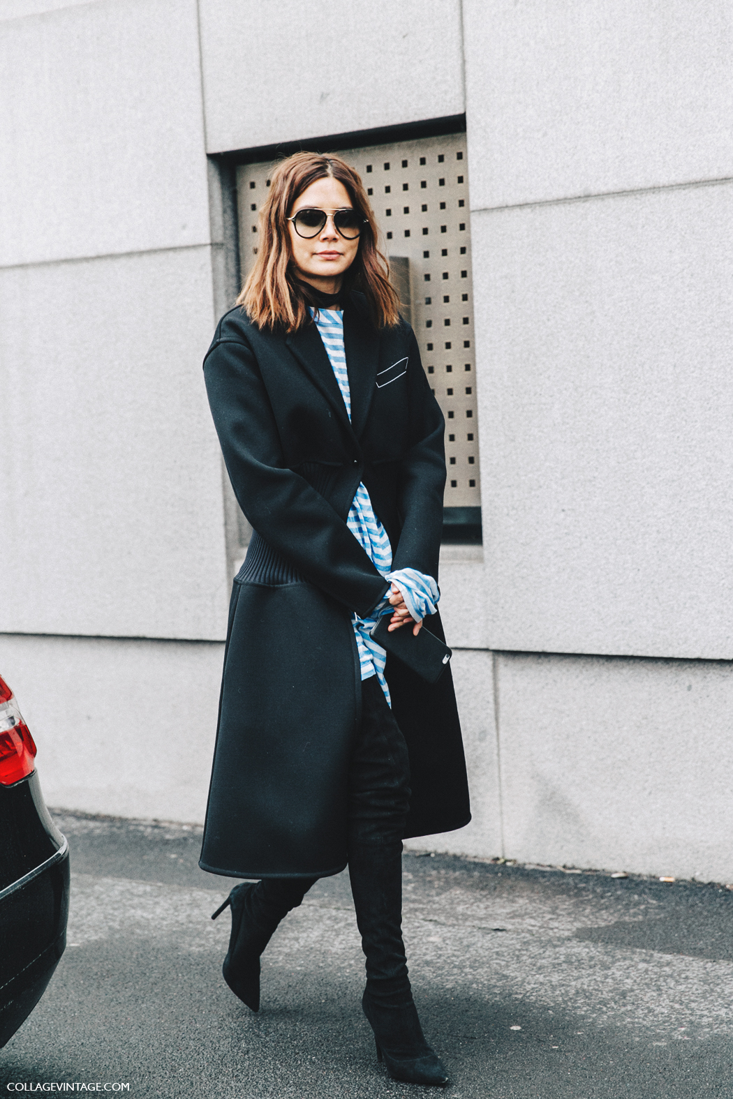 Milan_Fashion_Week_Fall_16-MFW-Street_Style-Collage_Vintage-Christine_Centenera-Celine_Outfit-Over_The_Knee_Boots-2