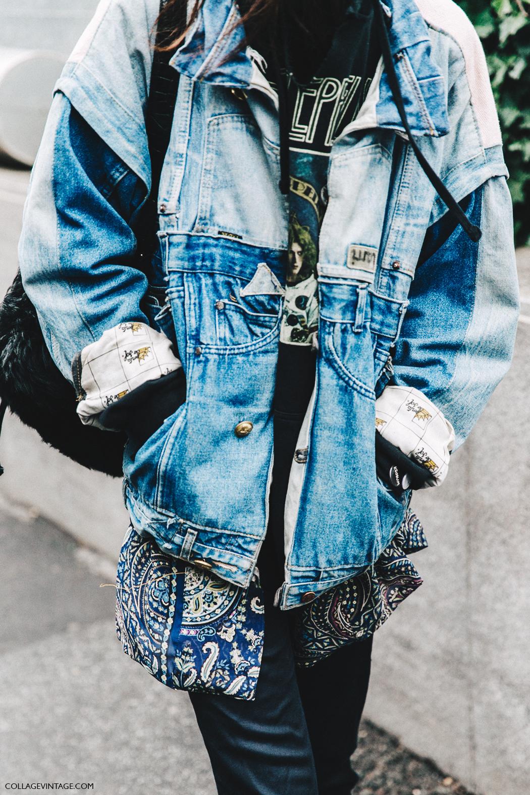 Milan_Fashion_Week_Fall_16-MFW-Street_Style-Collage_Vintage-Denim_Patchwork-1