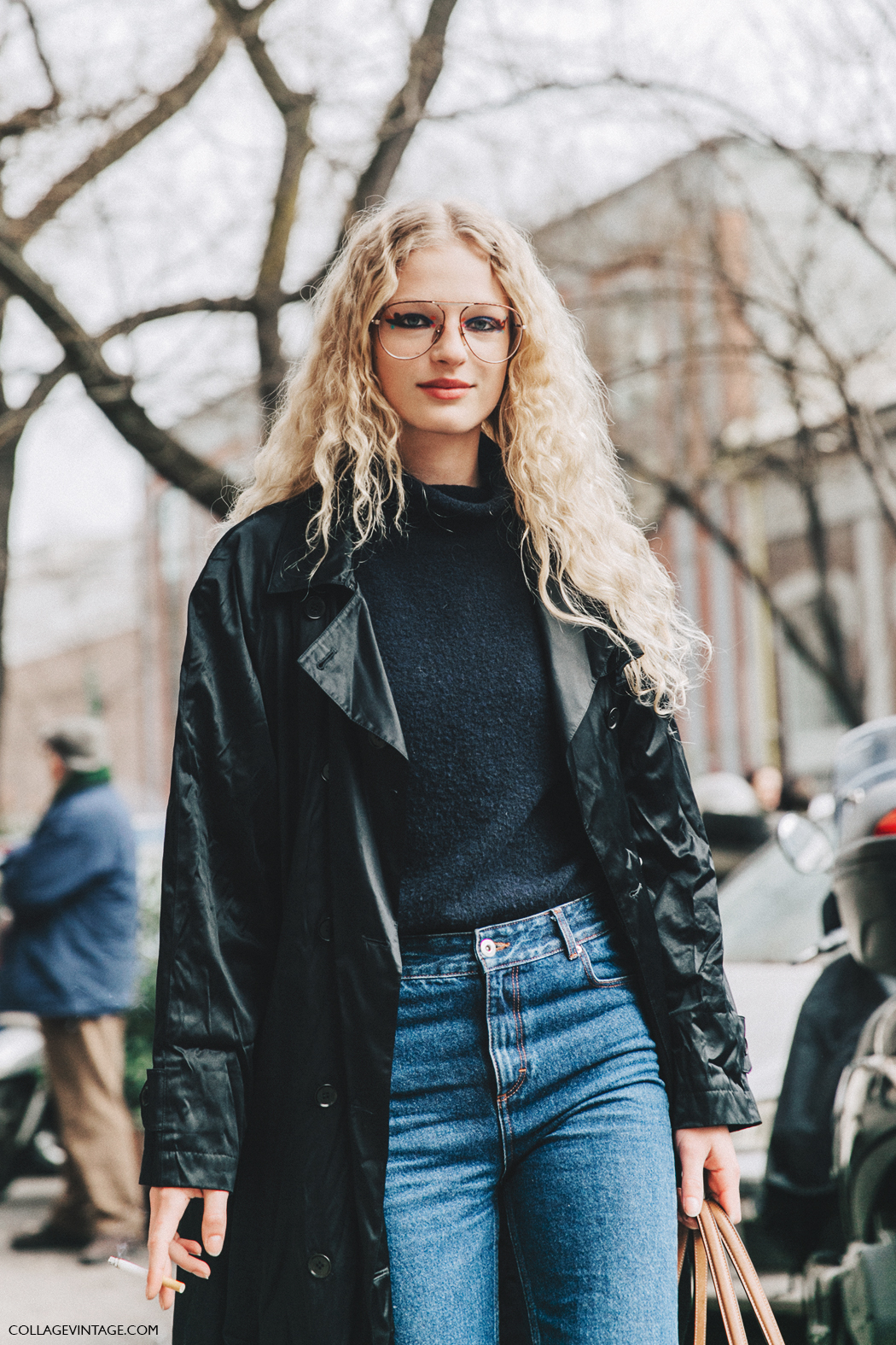 Milan_Fashion_Week_Fall_16-MFW-Street_Style-Collage_Vintage-Frederikke_Sofie-Celine-Model-4