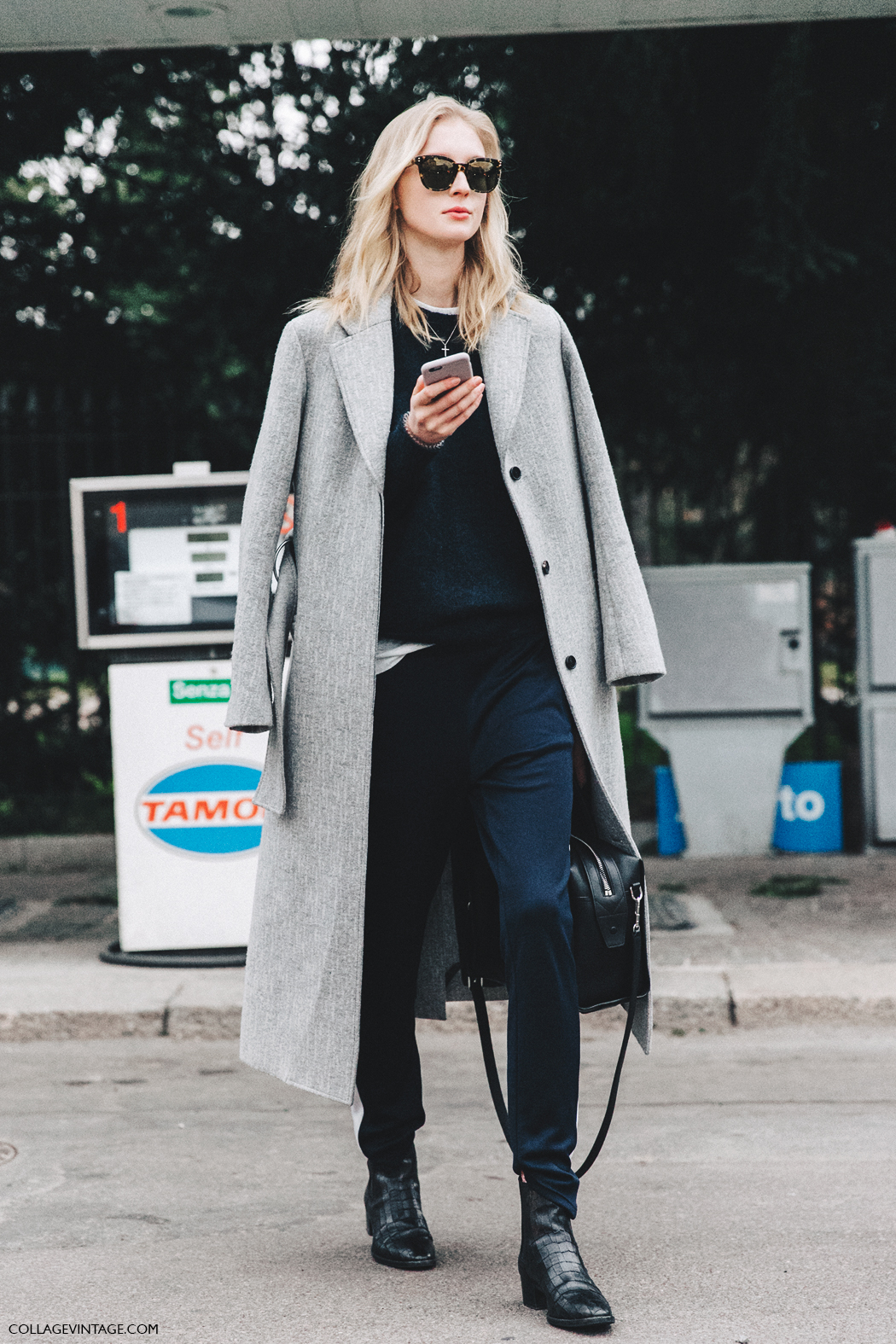 Milan_Fashion_Week_Fall_16-MFW-Street_Style-Collage_Vintage-Grey_Coat-Blue-Model-Tods-