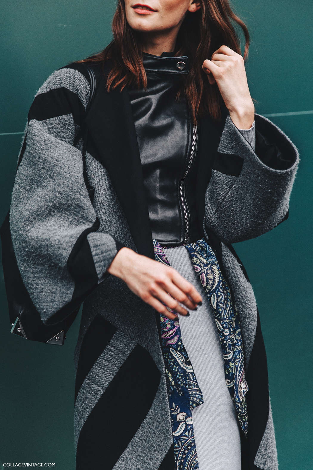 Milan_Fashion_Week_Fall_16-MFW-Street_Style-Collage_Vintage-Model-Midi_Skirt-Layers-Biker_Jacket-7
