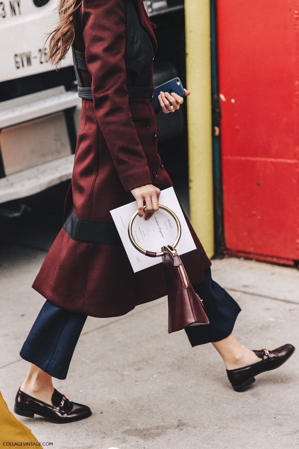 NYFW-New_York_Fashion_Week-Fall_Winter-16-Street_Style-Burgundy-Loafers-