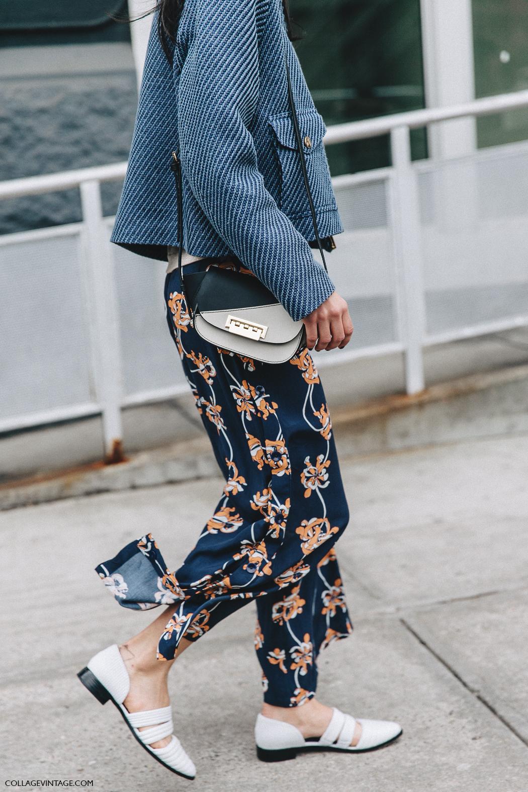 NYFW-New_York_Fashion_Week-Fall_Winter-17-Street_Style-Light_Blue_Jacket-Printed_Trousers-3