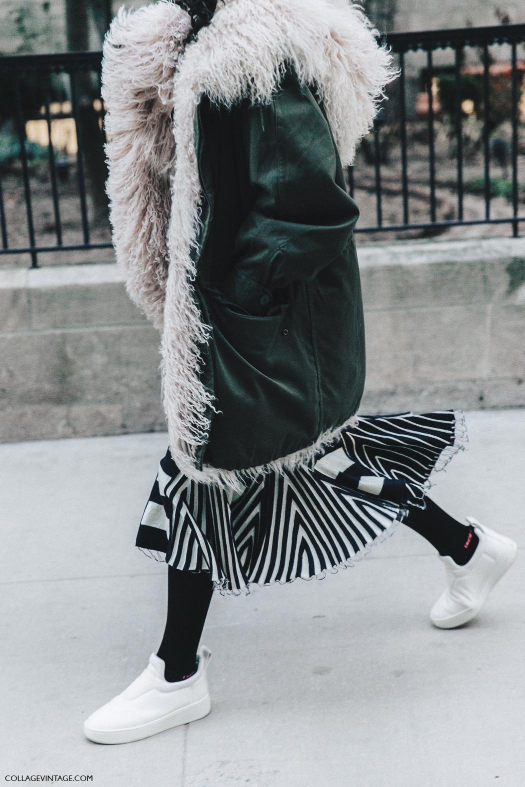 NYFW-New_York_Fashion_Week-Fall_Winter-17-Street_Style-Parka-Celine_Sneakers-