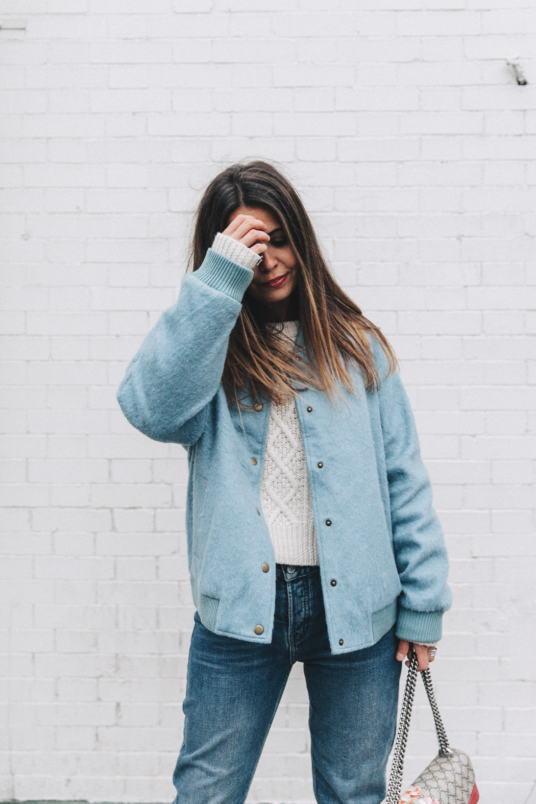 Blue_Bomber-Ganni-Topshop_Jeans-White_Boots-Gucci_Bag-Outfit-NYFW-New_York-Street_Style-21