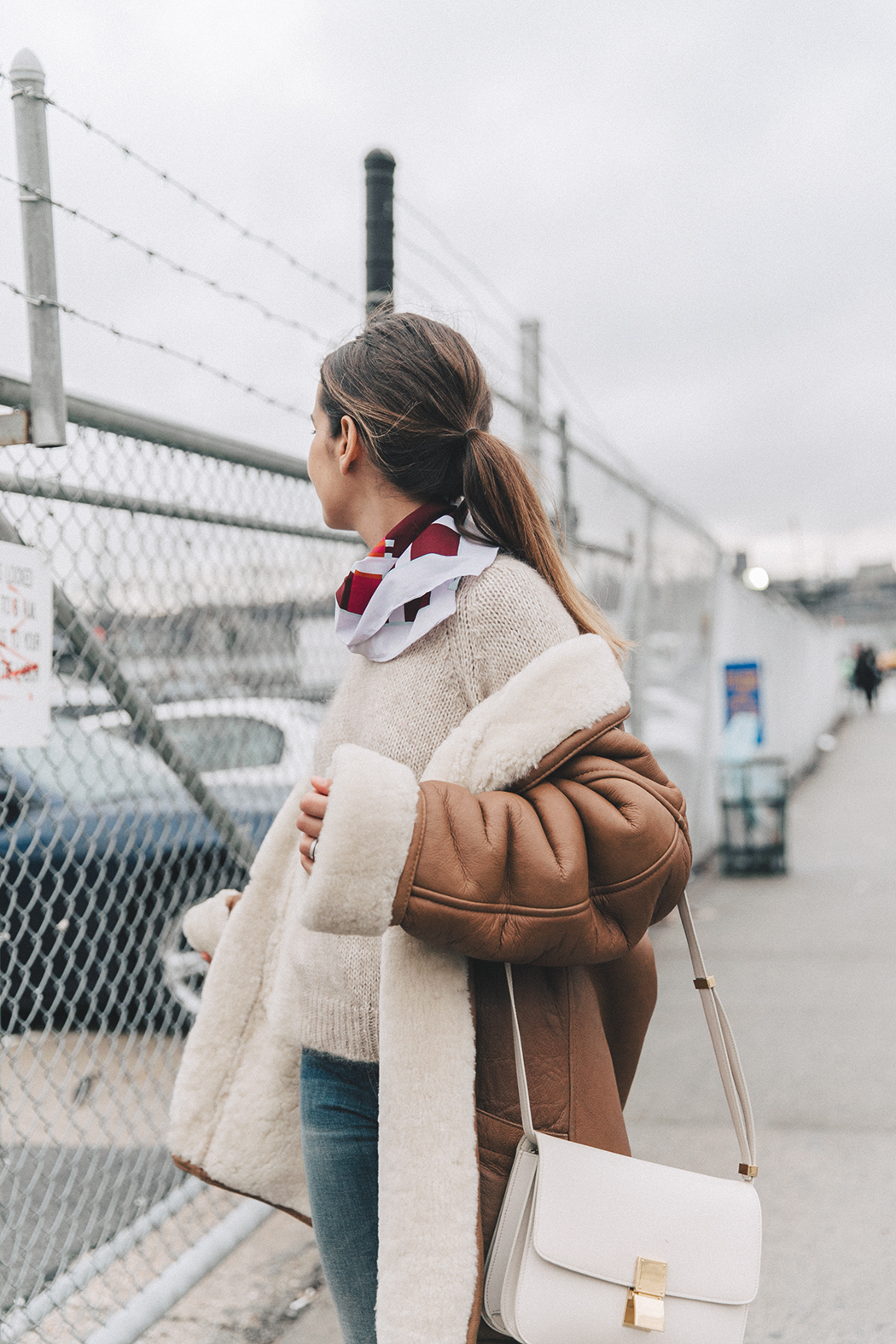 Collage_Vintage-Vintage_Coat-Jeans-Mother_Denim-Vintage_Scarf-White_Boots-Outfit-NYFW-Street_Style-Celine_Box-35