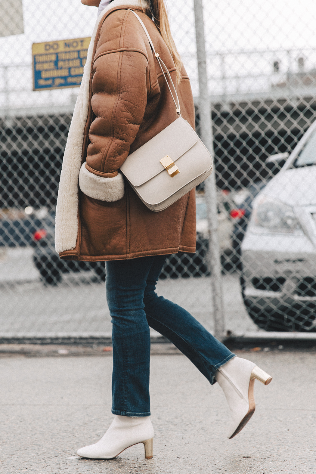 Collage_Vintage-Vintage_Coat-Jeans-Mother_Denim-Vintage_Scarf-White_Boots-Outfit-NYFW-Street_Style-Celine_Box-6