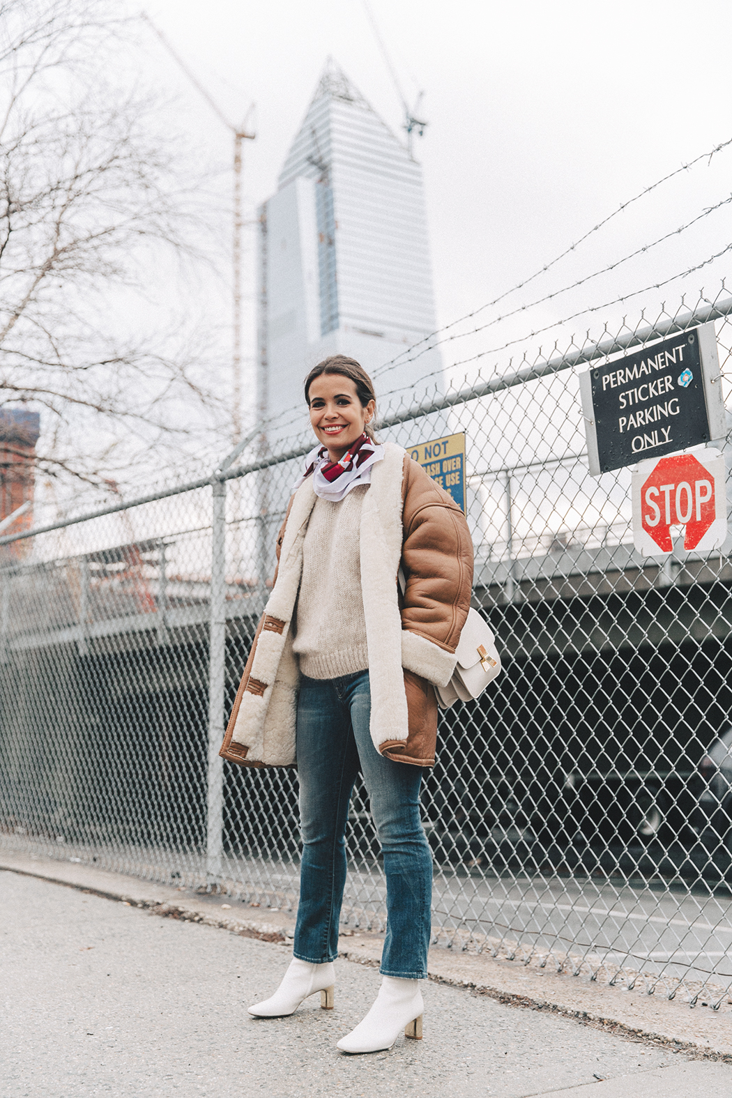 Collage_Vintage-Vintage_Coat-Jeans-Mother_Denim-Vintage_Scarf-White_Boots-Outfit-NYFW-Street_Style-Celine_Box-62