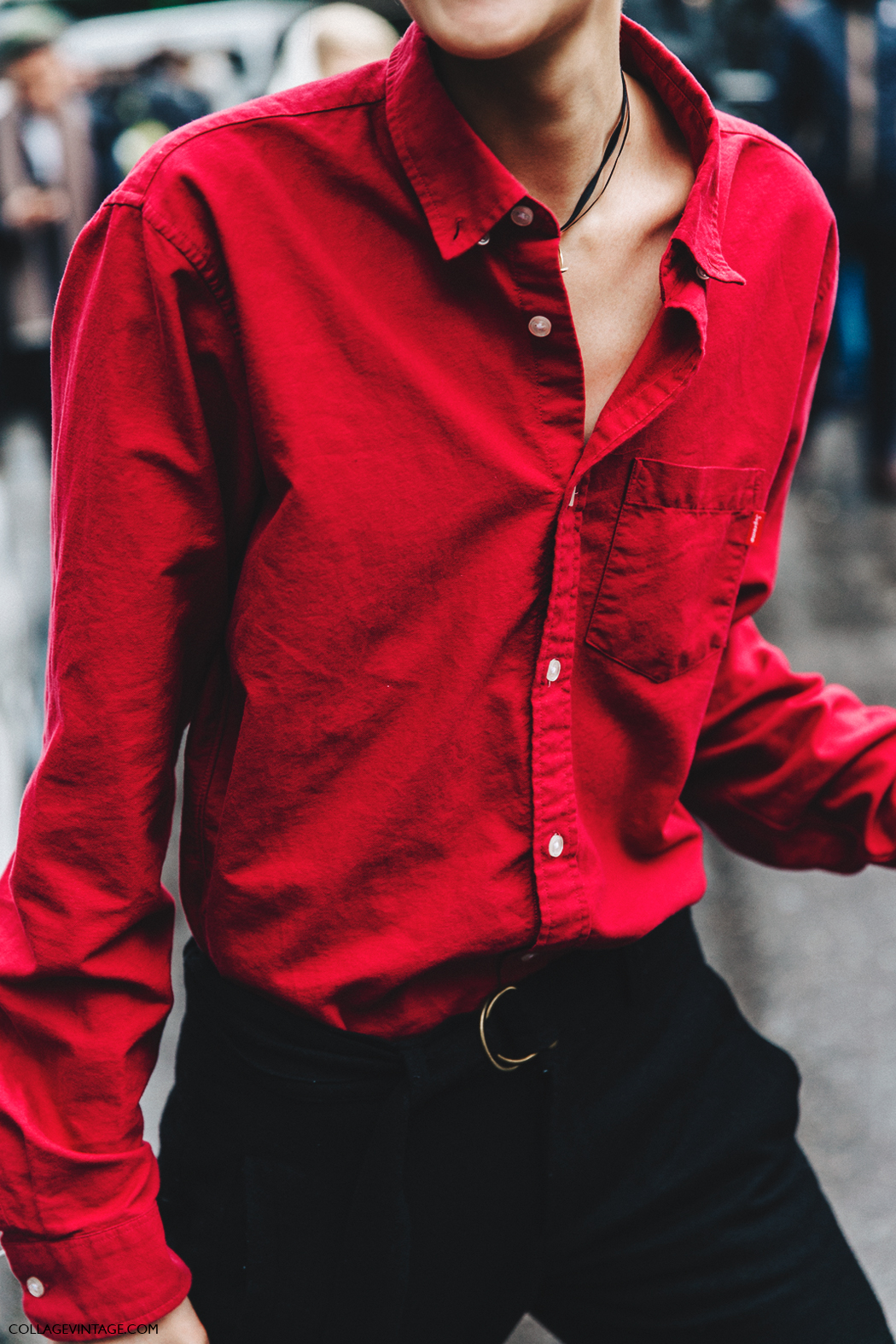 Milan_Fashion_Week_Fall_16-MFW-Street_Style-Collage_Vintage-Red_Shirt-