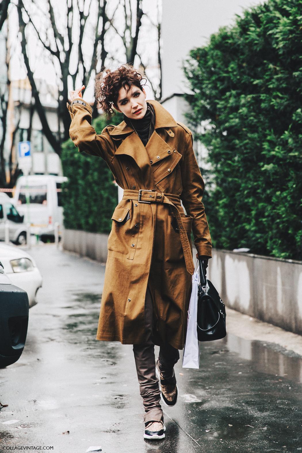 Milan_Fashion_Week_Fall_16-MFW-Street_Style-Collage_Vintage-Trench_Coat-Armani-Model-