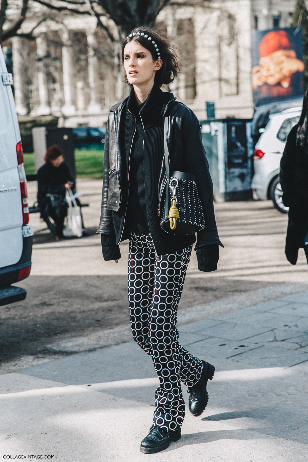 PFW-Paris_Fashion_Week_Fall_2016-Street_Style-Collage_Vintage-Chanel_Model-Pearl_Headband-