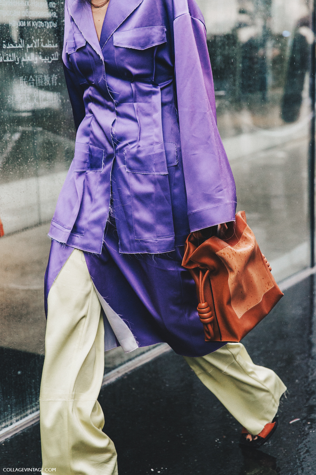 PFW-Paris_Fashion_Week_Fall_2016-Street_Style-Collage_Vintage-Gilda_Ambrossio-Purple-Loewe-1